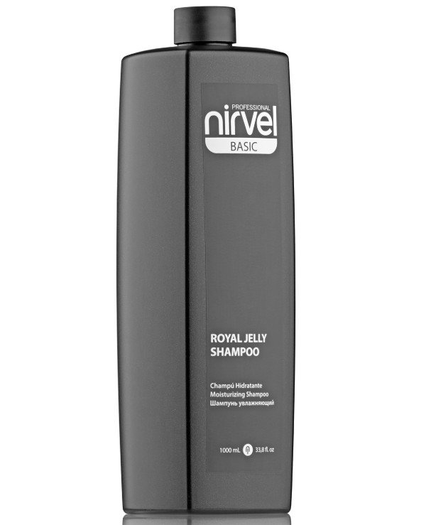 Nirvel Professional - Moisturizing shampoo with royal jelly Royal Jelly Shampoo 1000ml