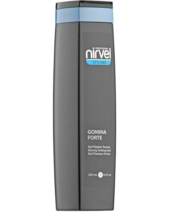 Nirvel Professional - Gel for hair styling and hairstyles Strong setting gel