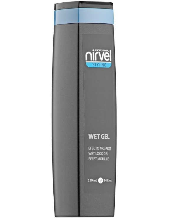 Nirvel Professional - Gel for styling with the effect of wet hair Wet Look Gel