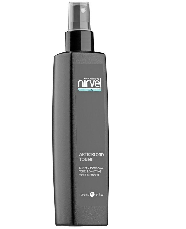 Nirvel Professional - Spray conditioner (toner) for cool blond shades Artic Blond Toner 250ml