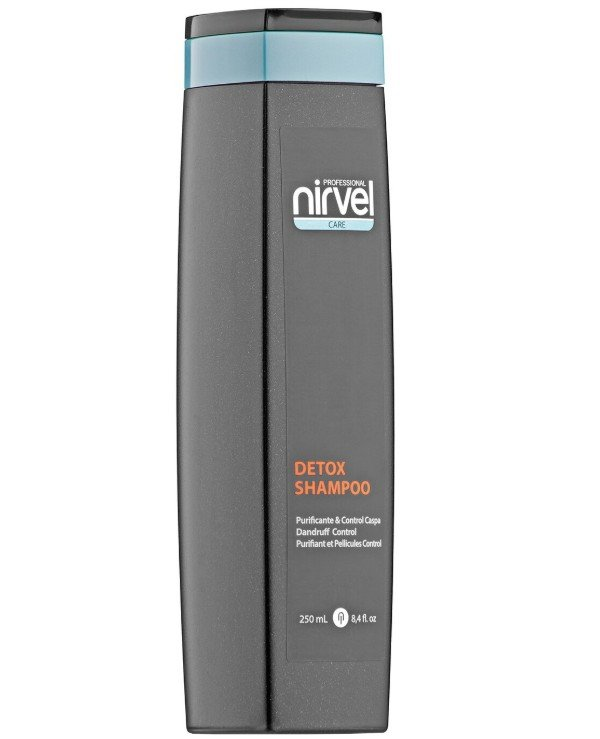 Nirvel Professional - Detox Shampoo against seborrhea (dandruff) and irritated scalp Detox Shampoo Dandruff Control 250ml