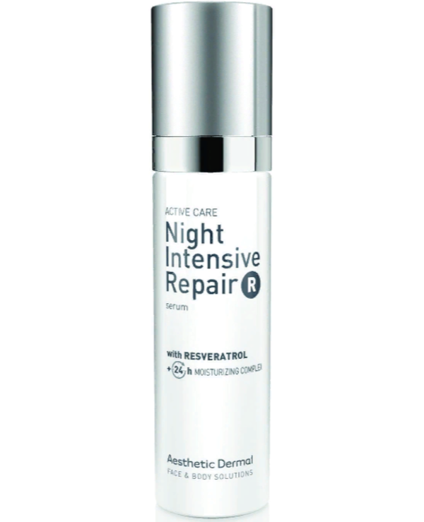 Aesthetic Dermal - Moisturizing Face Serum Night Intensive Repair R Serum 50ml