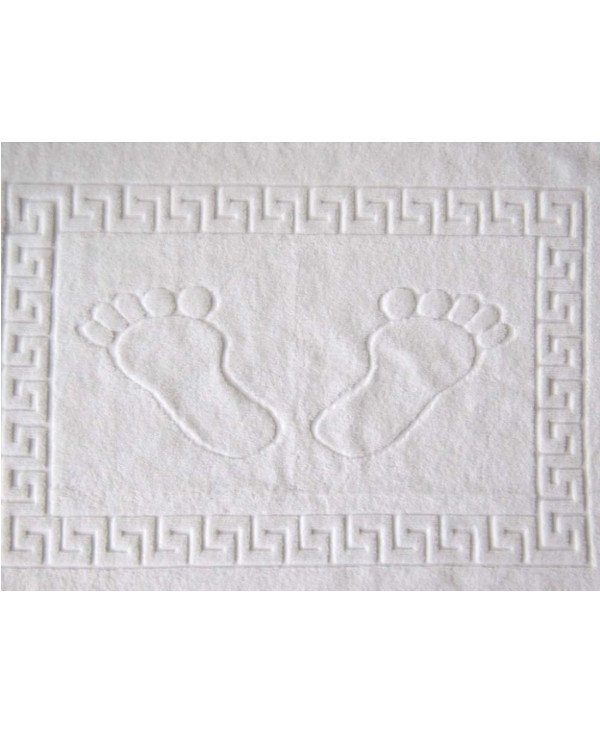 HotelSpaService - Terry mat white - towel for feet (50 * 70cm) Turkey HOTEL