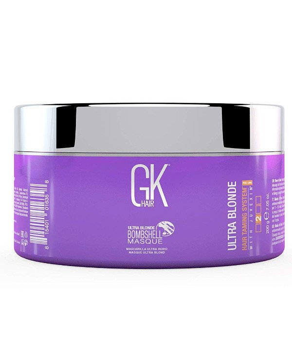 Gkhair Global Keratin - Mask cold blonde Ultra Blonde Bombshell Masque