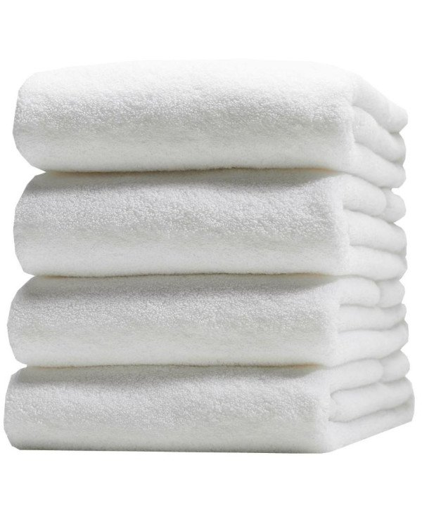 HotelSpaService - White Terry Towel (bath-house 70-140cm) Turkey