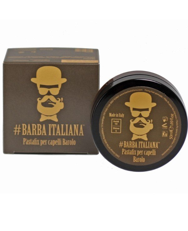 Barba Italiana - Hair Fixing Fudge Pasta fix per capelli BAROLO 50ml