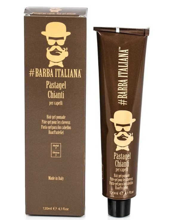 Barba Italiana - Gel fudge for hair Pasta gel per capelli CHIANTI 120ml