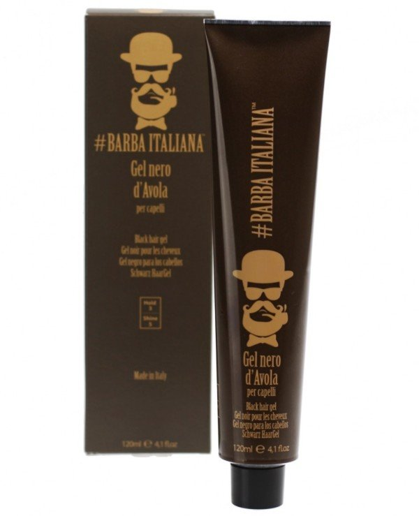Barba Italiana - Hair gel Gel per capelli NERO D'AVOLA 120ml