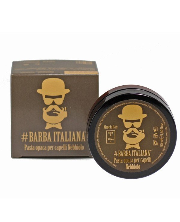 Barba Italiana - Matte hair paste Pasta opaca per capelli NEBBIOLO 100ml