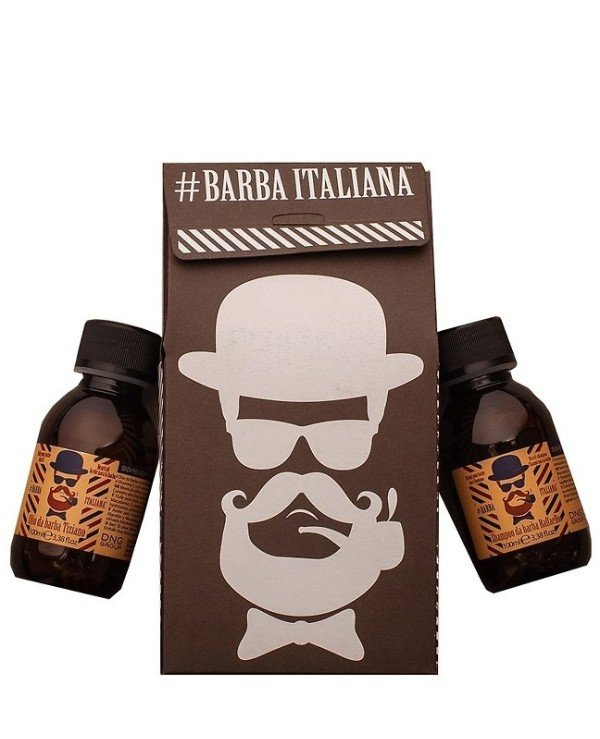 Barba Italiana - Beard care set Special Duo Raffaelo+Tiziano 100ml * 2