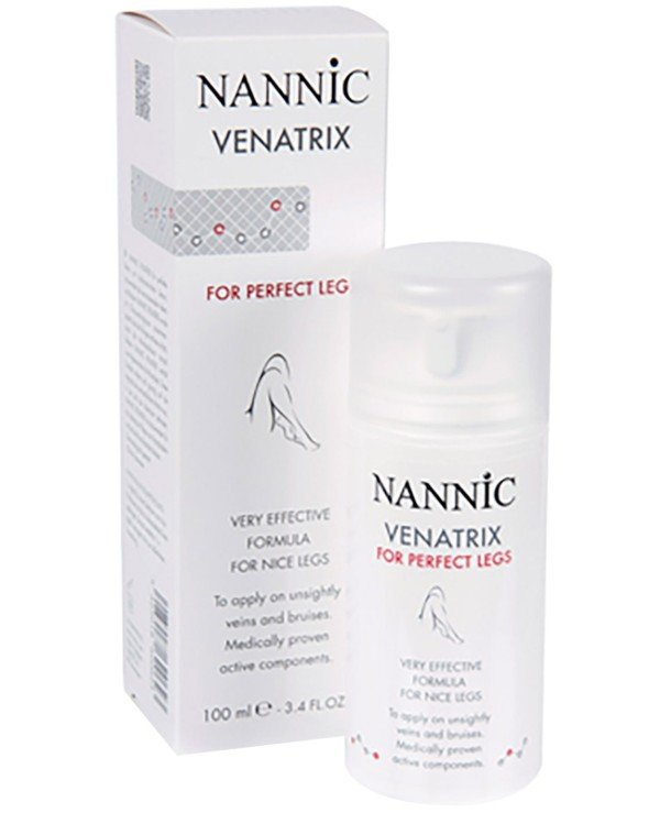 Nannic - Serum against the vascular network of the legs Venatrix Legs