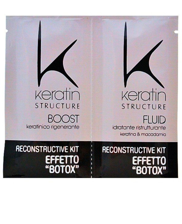 "Keratin Structure - Deep reconstruction with ""Botox"" effect Reconstructive Kit effetto Botox"