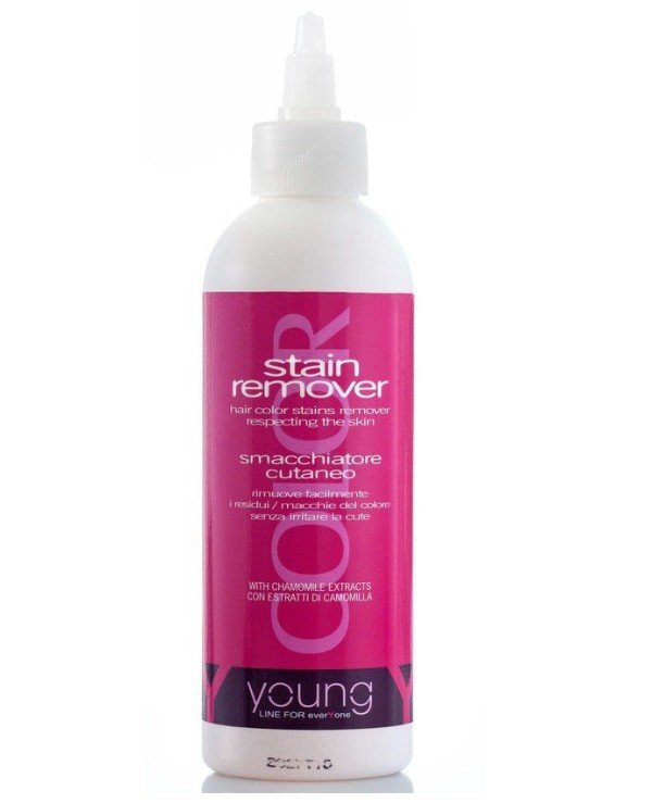 Young - Dye remover from the scalp with chamomile extract Stain remover