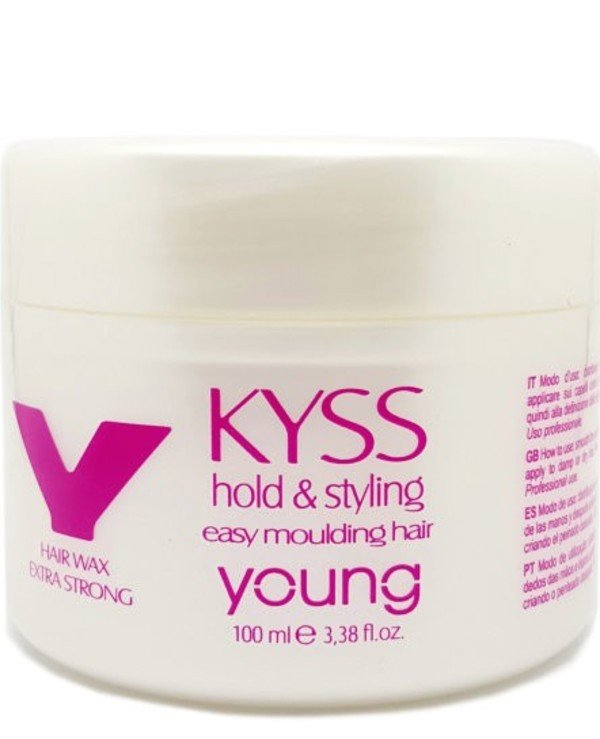 Young - Extra strong wax for hair Kyss Hair Wax 100ml