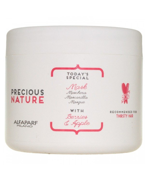 "Alfaparf Milano - Mask for dry and dull hair, ""Berries and Apple"" Mask For Thirsty Hair 500ml"