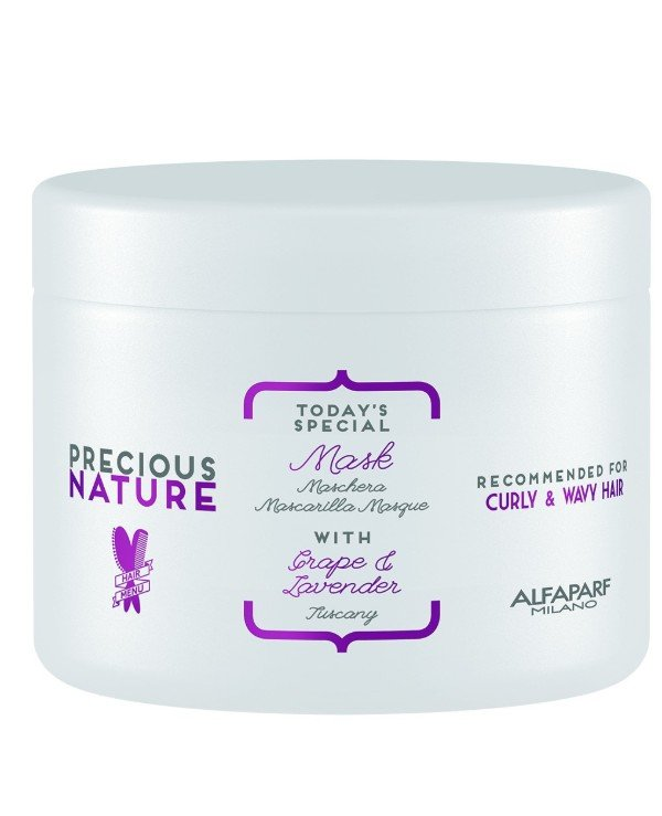 "Alfaparf Milano - Mask for curly and curly hair ""Grapes and lavender"" Mask For Curly & Wavy Hair 500ml"