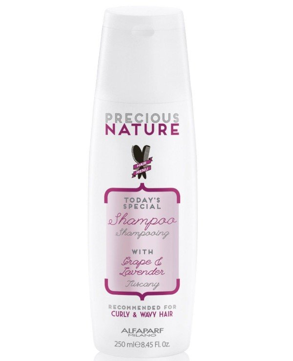 "Alfaparf Milano - Shampoo for curly and curly hair ""Grapes and Lavender"" Shampoo For Curly&Wavy Hair 250ml"
