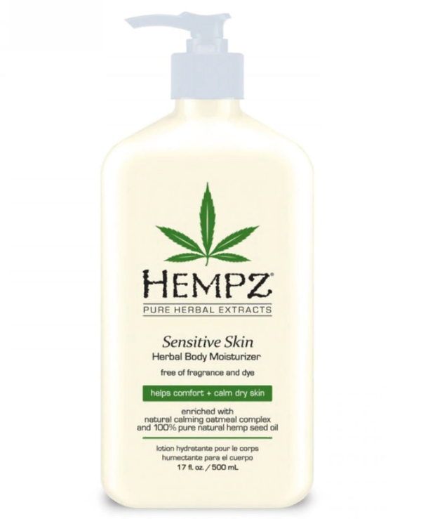 Hempz - Herbal moisturizing lotion for sensitive skin Moisturizer Lotion For Sensitive Skin