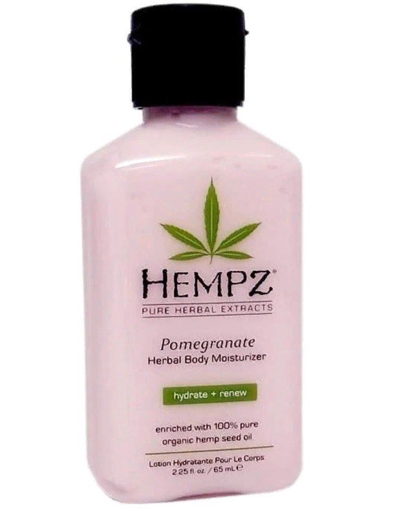 Hempz - Pomegranate Moisturizing Body Milk Pomegranate Herbal Body Moisturizer