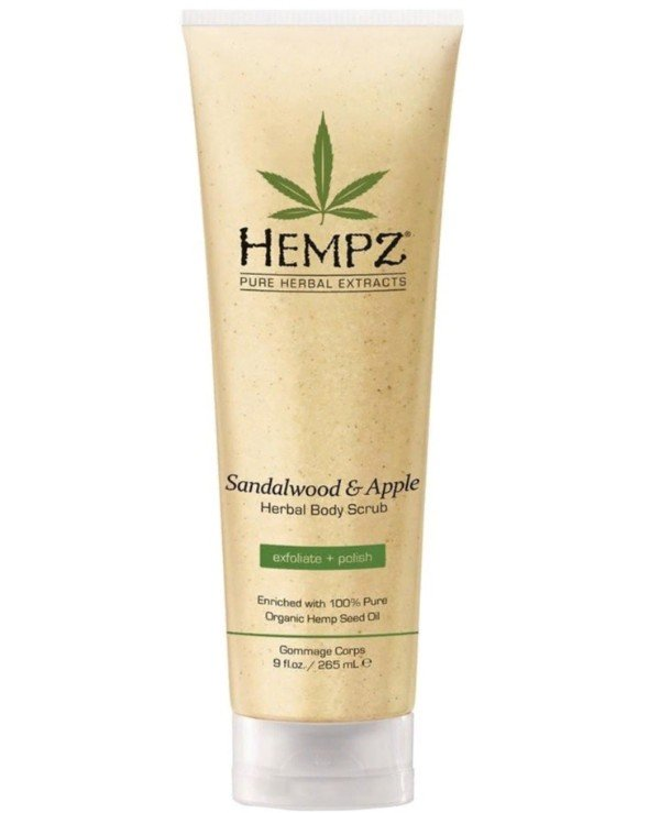 Hempz - Скраб для тела с экстрактами сандала и яблока Sandalwood and Apple Herbal Body Scrub 265мл