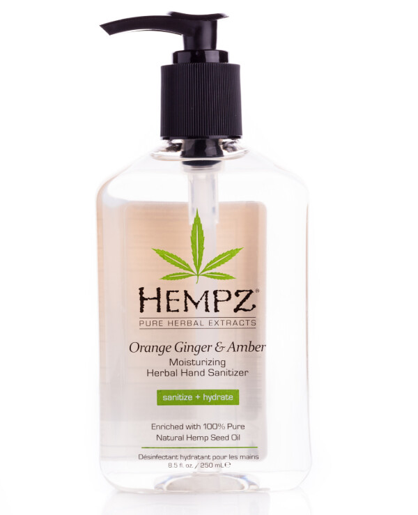 Hempz - Moisturizing Vegetable Sanitizer for hands Moisturizing Herbal Hand Sanitizer