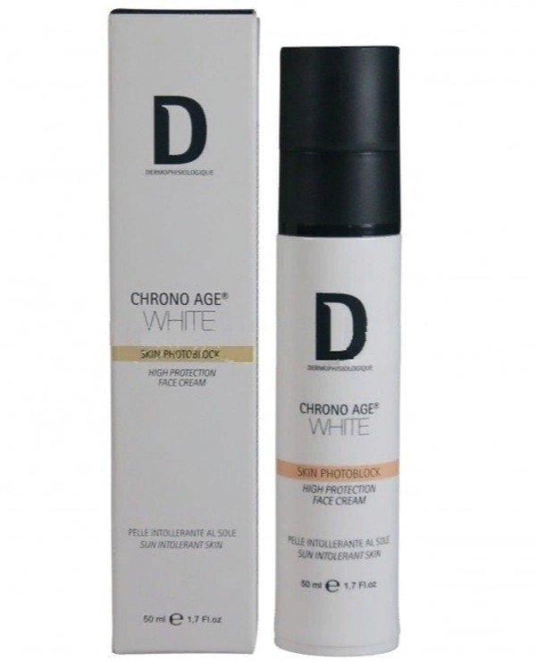 Dermophisiologique - Protective face cream against pigmentation Spf 30 Skin Photoblock High Protection SPF 30