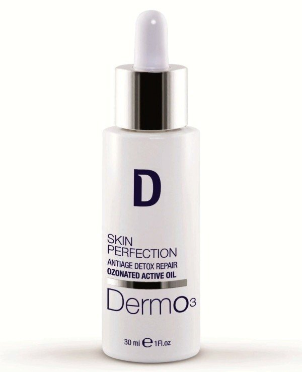 Dermophisiologique - Protective ozonated facial oil Antiage Detox Ozonated Repairing Active Oil