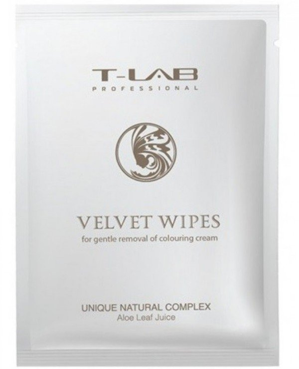 T-Lab Professional - Wipes for cleaning the skin after dyeing Velvet Wipes