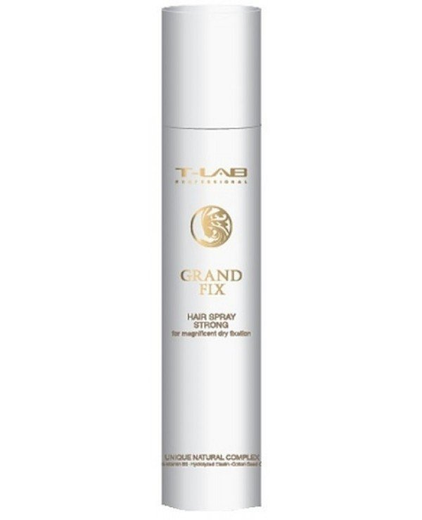 T-Lab Professional - Varnish spray for strong hold hair Grand Fix For Magnificent Dry Fixation