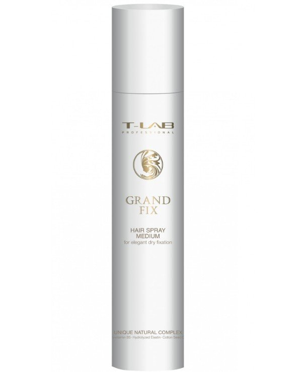 T-Lab Professional - Medium hold hairspray Grand Fix Hair Spray Medium 300ml