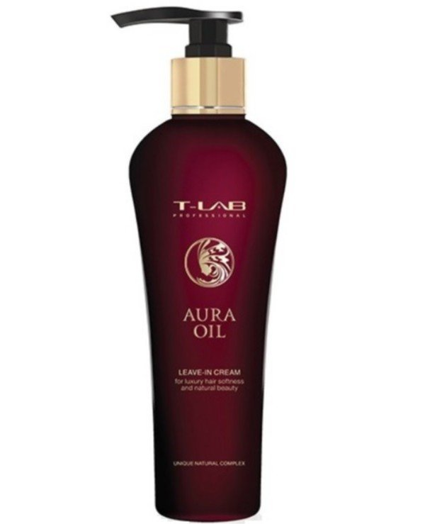 T-Lab Professional - Indelible cream for luxurious softness and natural beauty of hair Aura Oil Leave-in Cream 130ml