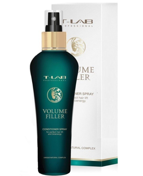 T-Lab Professional - Spray conditioner for excellent volume and bioenergy Volume Filler Conditioner Spray 130ml