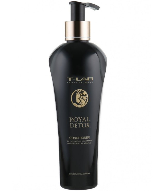 T-Lab Professional - Conditioner for royal smoothness and absolute detoxification Royal Detox Conditioner 250ml
