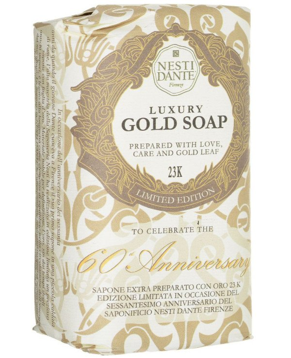 Nesti Dante - Золотое мыло Gold Soap 60th Anniversary Gold Leaf 250 г