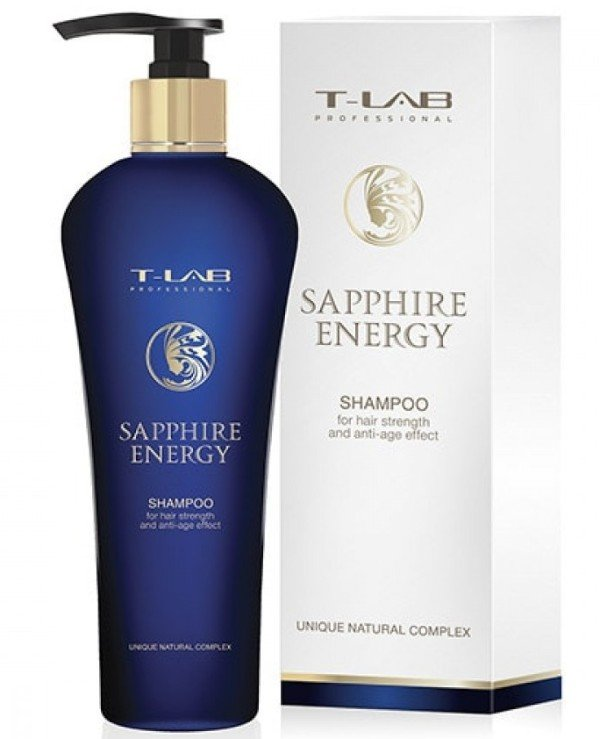 T-Lab Professional - Shampoo for hair strength and anti-age effect Sapphire Energy Shampoo 250ml