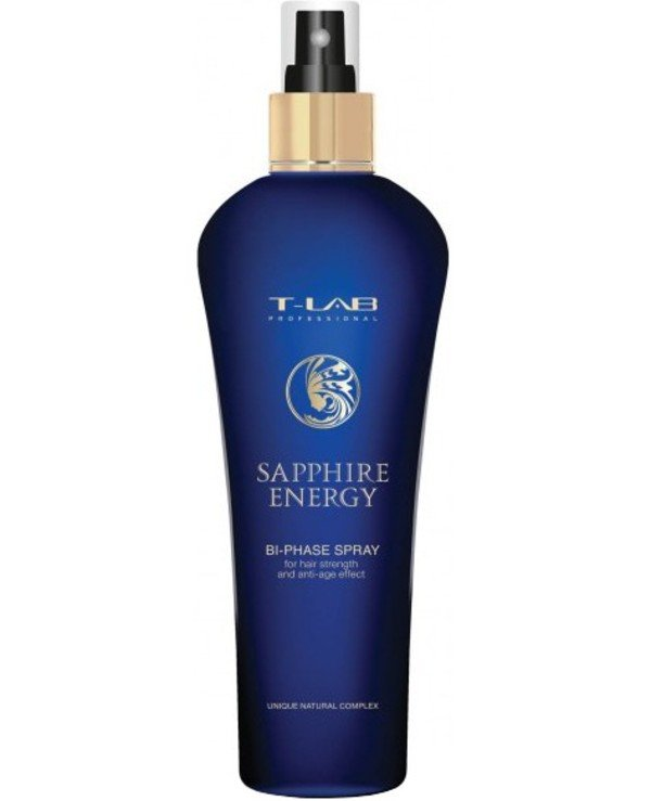 T-Lab Professional - Biphasic spray for hair strength and anti-age effect Sapphire Energy Bi-Phase Spray 250ml