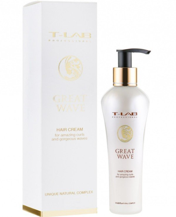 T-Lab Professional - Cream for stunning curls and wonderful curls Great Wave Hair Cream 130ml