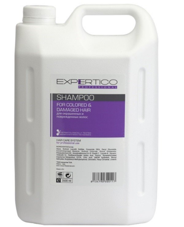 Tico Professional - Shampoo for dyed and damaged hair Shampoo For Colored & Damaged Hair