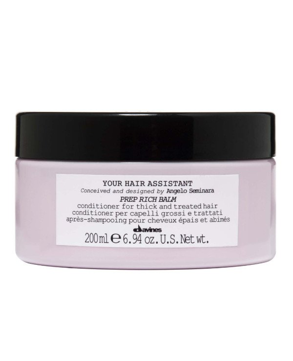 Davines - Intense nourishing conditioner Your Hair Assistant Prep Rich Balm 200ml