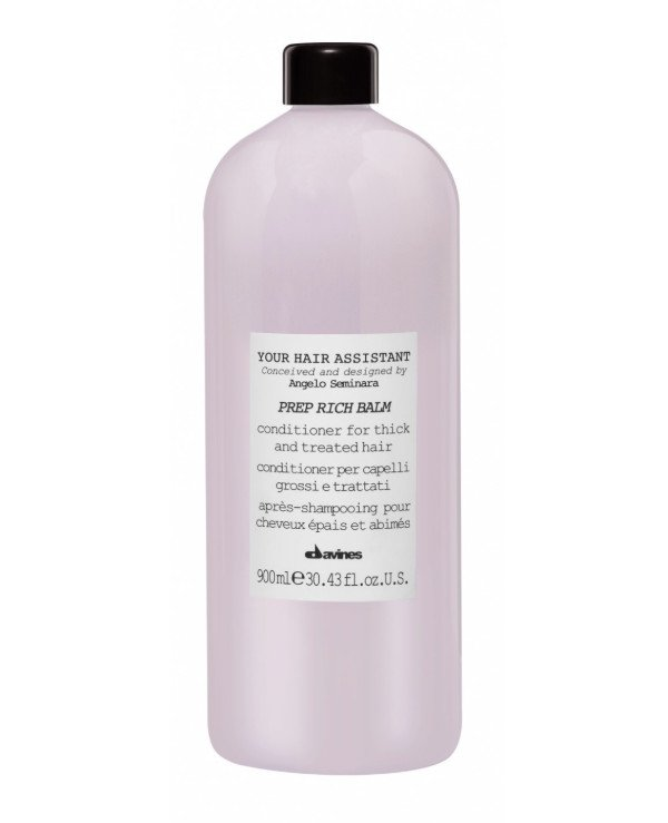 Davines - Intense nourishing conditioner Your Hair Assistant Prep Rich Balm 900ml