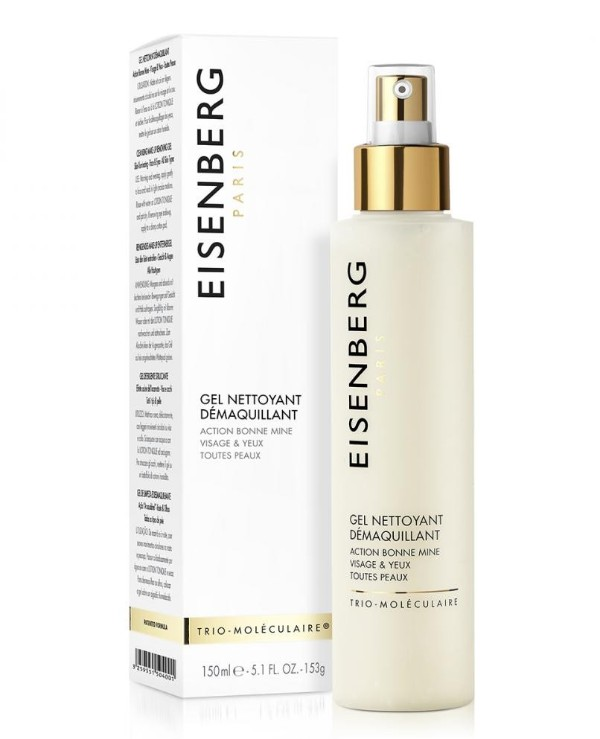 Eisenberg - Cleansing gel for removing makeup from the face and around the eyes Gel Nettoyant Démaquillant 150ml
