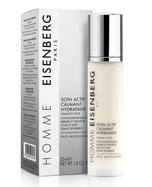 Eisenberg - Moisturizing soothing agent for face and skin around eyes Soin Actif Calmant Hydratant