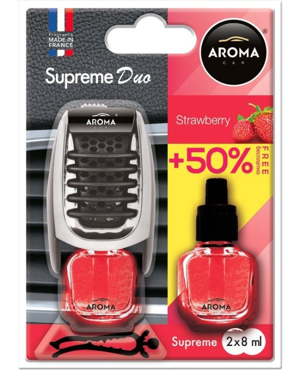 Aroma Car - Flavor Supreme DUO Slim Strawberry
