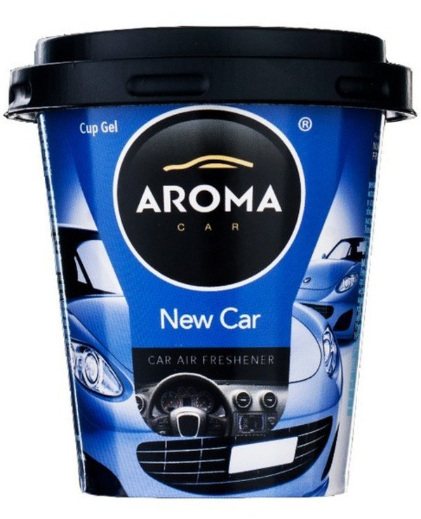"Aroma Car - Ароматизатор ""Новая машина"" Cup Gel New Car"