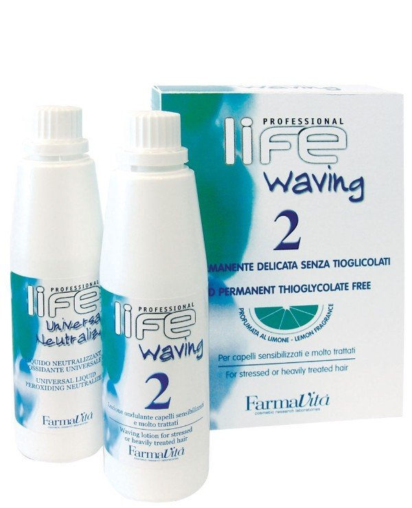 FarmaVita - Biowave for damaged and porous hair Waving 2 For Stressed or Heavily Treated Hair