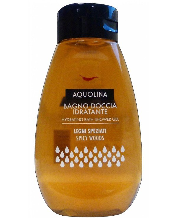 Aquolina - Гель для душа Bagno Doccia Spicy Woods Bath & Shower Gel 300мл