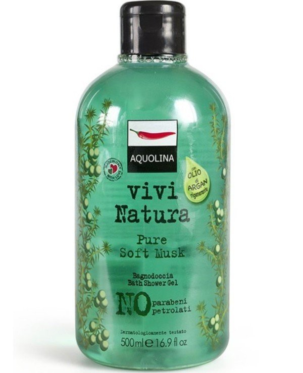 Aquolina - Гель для душа Vivi Natura Pure Soft Musk Bath Shower Gel 500мл