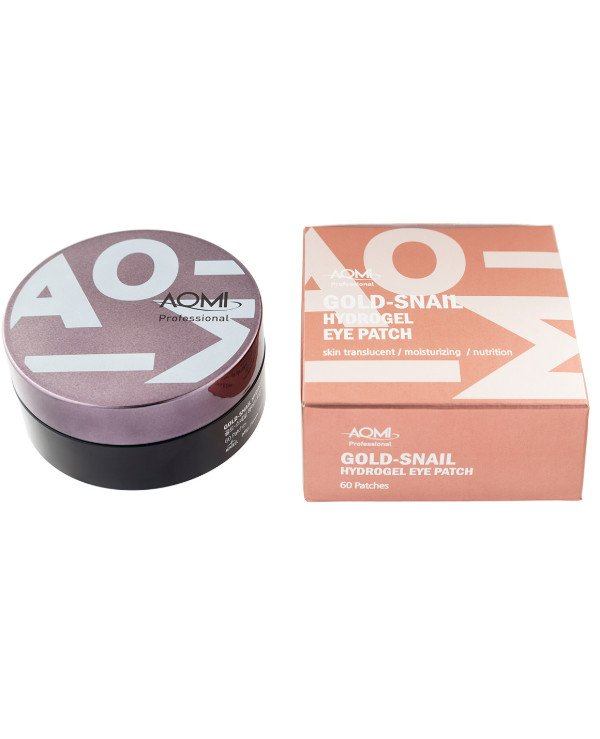 Aomi - Hydrogel patches with snail mucin and colloidal gold Gold-Snail Hydrogel Eye Patch