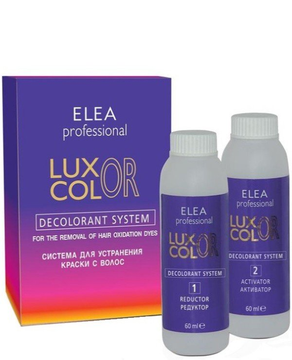 Elea Professional - Hair dye remover Decolorant System