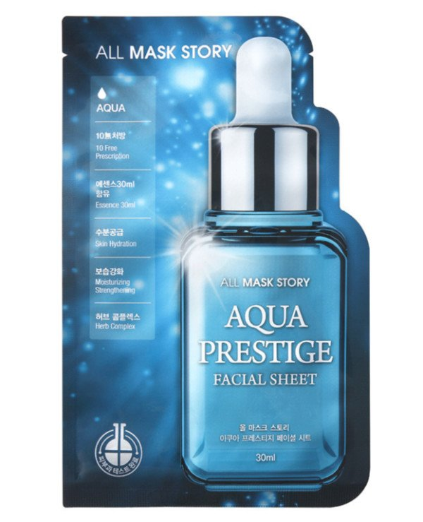 All Mask Story - Mask for the face Aqua Prestige Facial Sheet